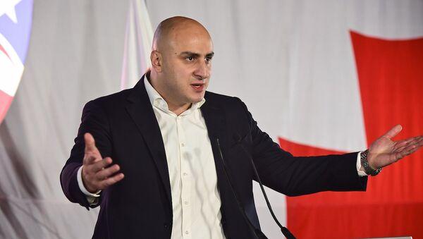 Депутат парламента Грузии Ника Мелия - Sputnik Грузия