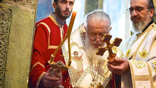 Католикос-Патриарх Всея Грузии Илия Второй - Sputnik საქართველო