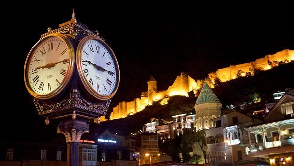 საათი თბილისის ძველ უბანში - Sputnik საქართველო
