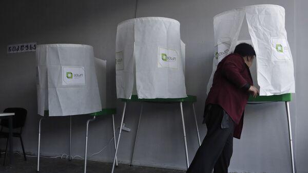 Выборы в Грузии - Sputnik Грузия