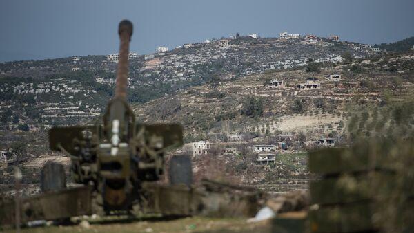 Сирийская армия в провинции Идлиб - Sputnik Грузия