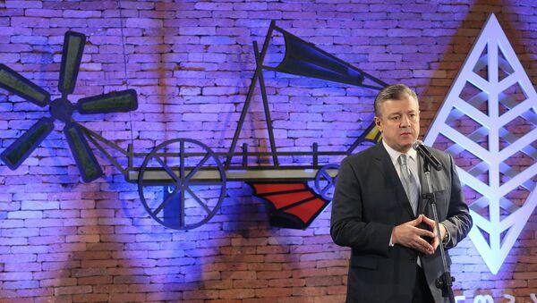 Георгий Квирикашвили на презентации проекта Дружественный стартап - Sputnik Грузия