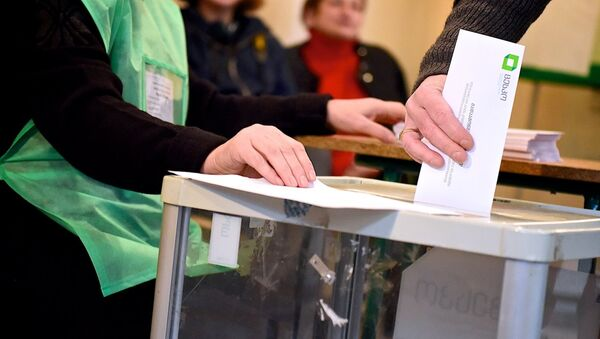 Парламентские выборы в Грузии - второй тур - Sputnik Грузия