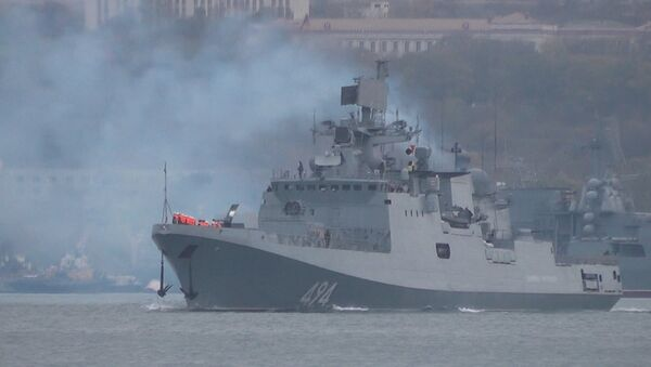 Фрегат ЧФ Адмирал Григорович отправился из Севастополя к берегам Сирии - Sputnik Грузия