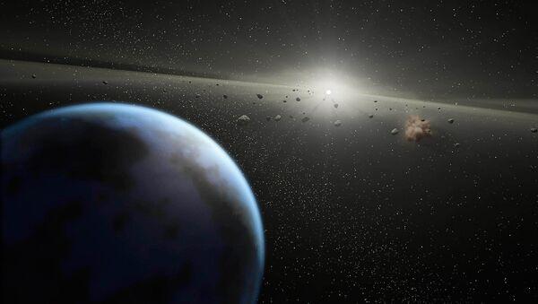 ასტეროიდები ვარსკვლავის გარშემო - Sputnik საქართველო