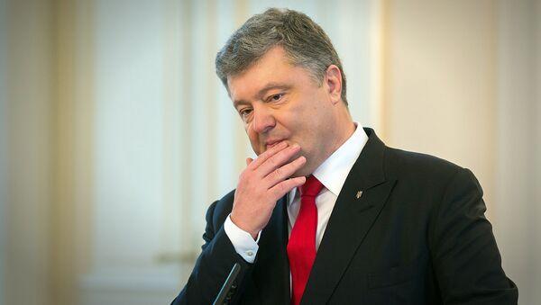 Президент Украины Петр Порошенко - Sputnik Грузия