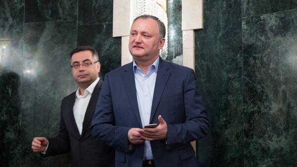 Игорь Додон Igor Dodon - Sputnik Грузия