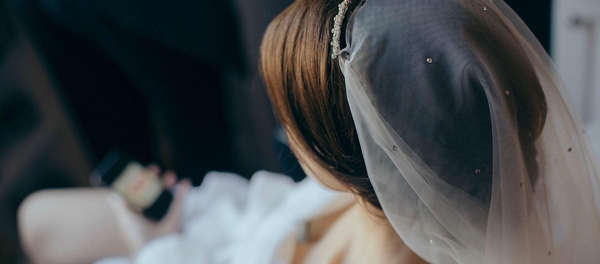 Невеста перед свадьбой - Sputnik საქართველო, 1920, 26.03.2020