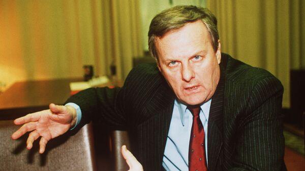 Мэр Санкт-Петербурга Анатолий Собчак - фото сделано в 1991 году - Sputnik Грузия