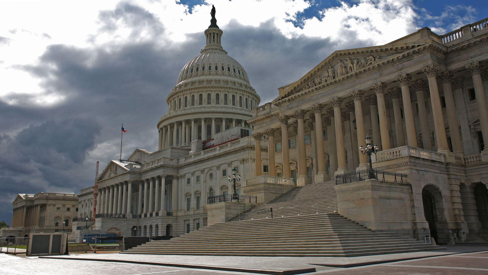 Здание Капитолия в США - Sputnik Грузия, 1920, 13.10.2021