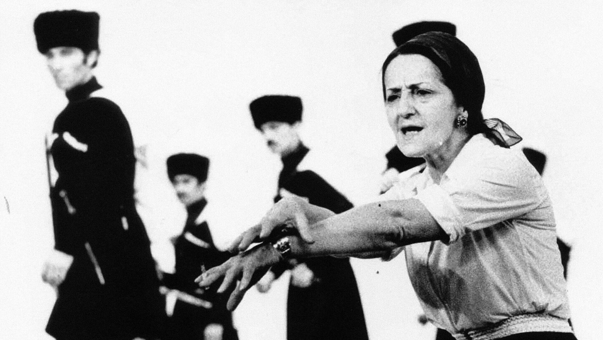 Балетмейстер, народная артистка СССР Нина Шалвовна Рамишвили - Sputnik Грузия, 1920, 08.03.2021