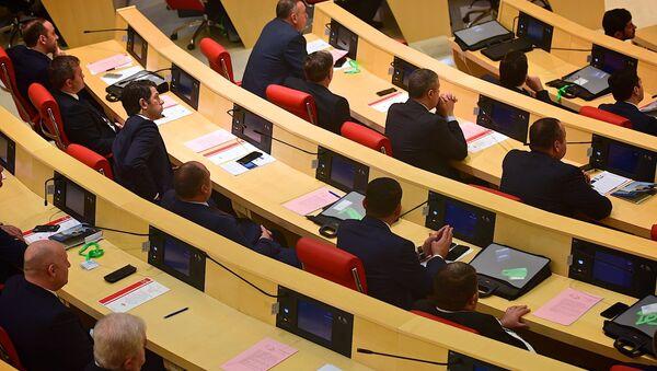 Парламент Грузии девятого созыва - Sputnik Грузия