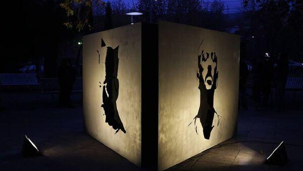 Памятник музыканту Ираклию Чарквиани - Sputnik Грузия
