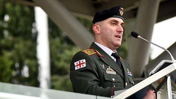 Начальник Генштаба Вооруженных сил Грузии Владимир Чачибая - Sputnik Грузия