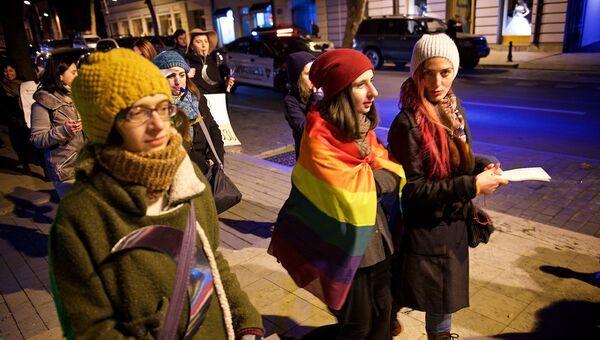 ფემინისტების მსვლელობა - Sputnik საქართველო