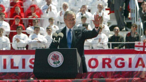 Визит президента США Джорджа Буша в Грузию - Sputnik Грузия