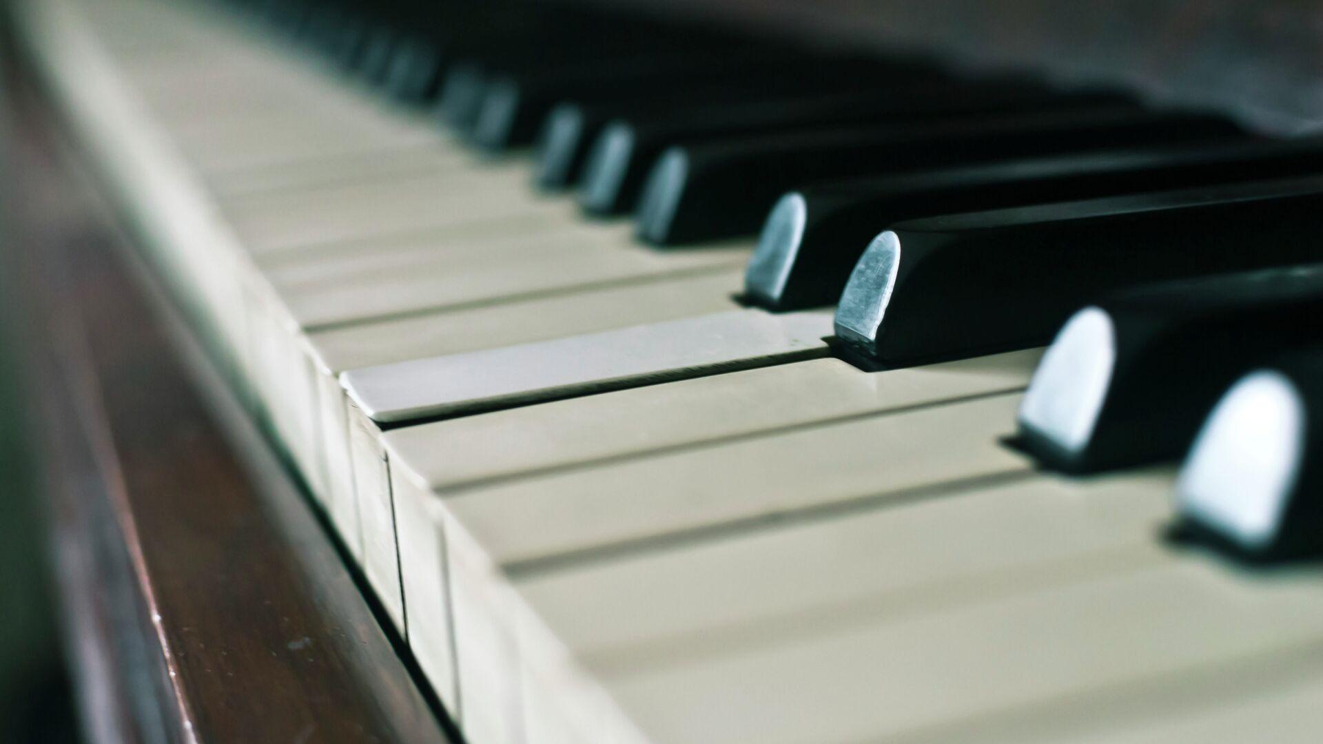 Клавиши рояля  - Sputnik Грузия, 1920, 05.10.2021