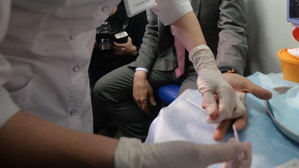 Прохождение теста на ВИЧ - Sputnik Грузия