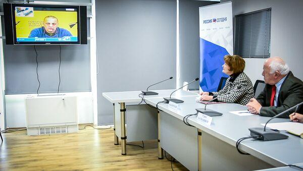 Видеомост Тбилиси - Минск - Sputnik Грузия