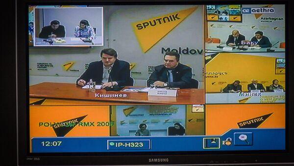 Телемост, посвященный проблеме людей с ограниченными возможностями - Sputnik Грузия
