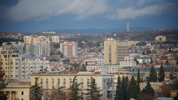 Вид на Тбилиси с Площади Революции роз - Sputnik Грузия
