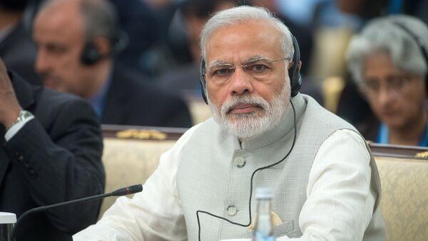 Премьер-министр Индии Нарендра Моди - Sputnik Грузия