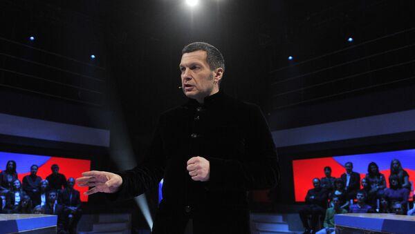 Телеведущий Владимир Соловьев, архивное фото - Sputnik Грузия