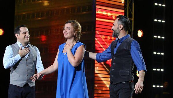 Тамар Квелашвили на шоу Ничиери - Sputnik Грузия