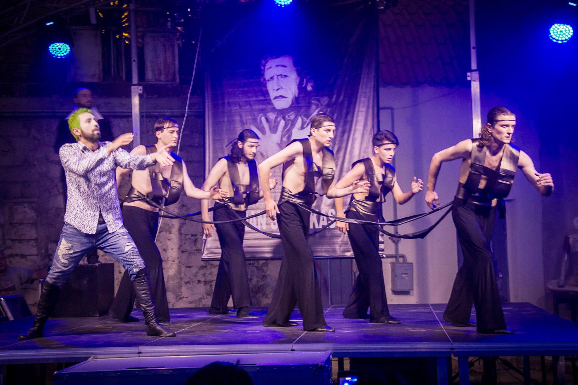 Спектакль в театре пантомимы - Sputnik Грузия, 1920, 07.10.2021
