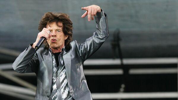 Вокалист группы The Rolling Stones Мик Джаггер во время выступления в Санкт-Петербурге - Sputnik Грузия