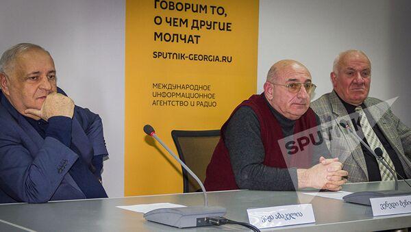 მრგვალი მაგიდის მონაწილეები - Sputnik საქართველო