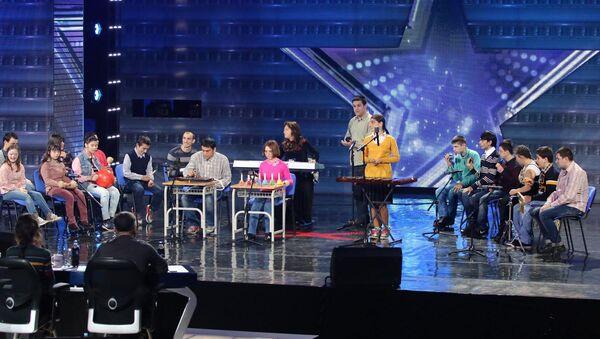 Параоркестр на теле-шоу Ничиери - Sputnik Грузия