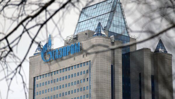 Офисное здание компании Газпром в Москве - Sputnik Грузия