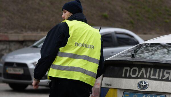 Сотрудники Украинской полиции в Киеве - Sputnik Грузия