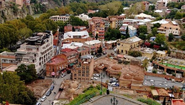 Панорама Тбилиси - Старый город - Sputnik Грузия