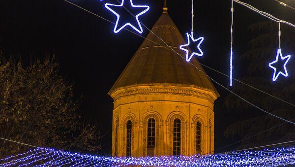 Новогодняя иллюминация - Sputnik Грузия