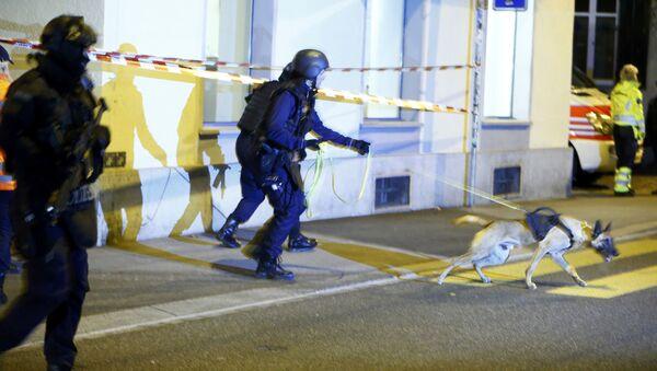 პოლიცია ციურიხში - Sputnik საქართველო
