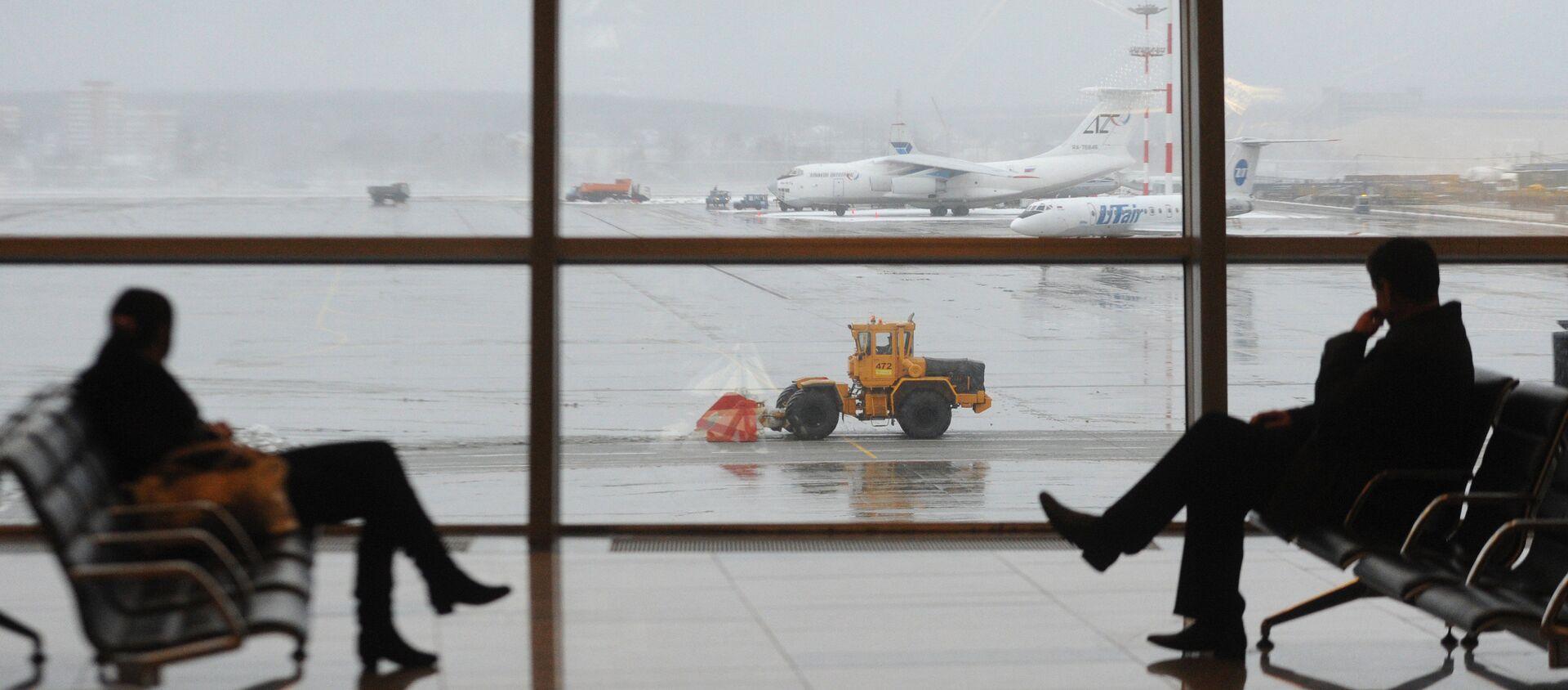 Пассажирский терминал А международного аэропорта Внуково - Sputnik Грузия, 1920, 25.02.2021