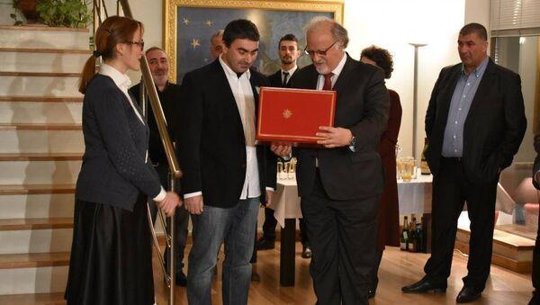 Церемония награждения Георгия Овашвили - Sputnik Грузия