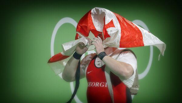 Грузинский спортсмен тяжеловес Лаша Талахадзе на Олимпиаде в Рио - Sputnik Грузия