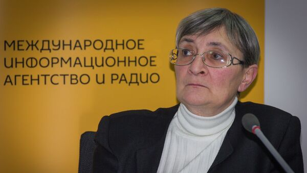 Руководитель центра глобальных исследований Нана Девдариани - Sputnik Грузия