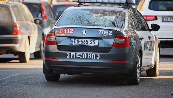 Машина патрульной полиции - Sputnik Грузия