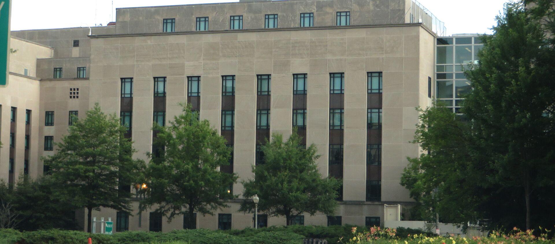 აშშ-ის სახელმწიფო დეპარტამენტის შენობა - Sputnik საქართველო, 1920, 07.06.2018