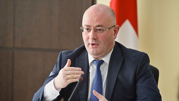 Министр обороны Грузии Леван Изория - Sputnik Грузия
