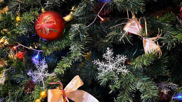 Игрушки и украшения на новогодней елке - Sputnik Грузия