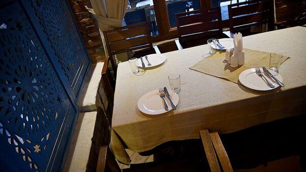 ერთ-ერთი რესტორანი თბილისში - Sputnik საქართველო