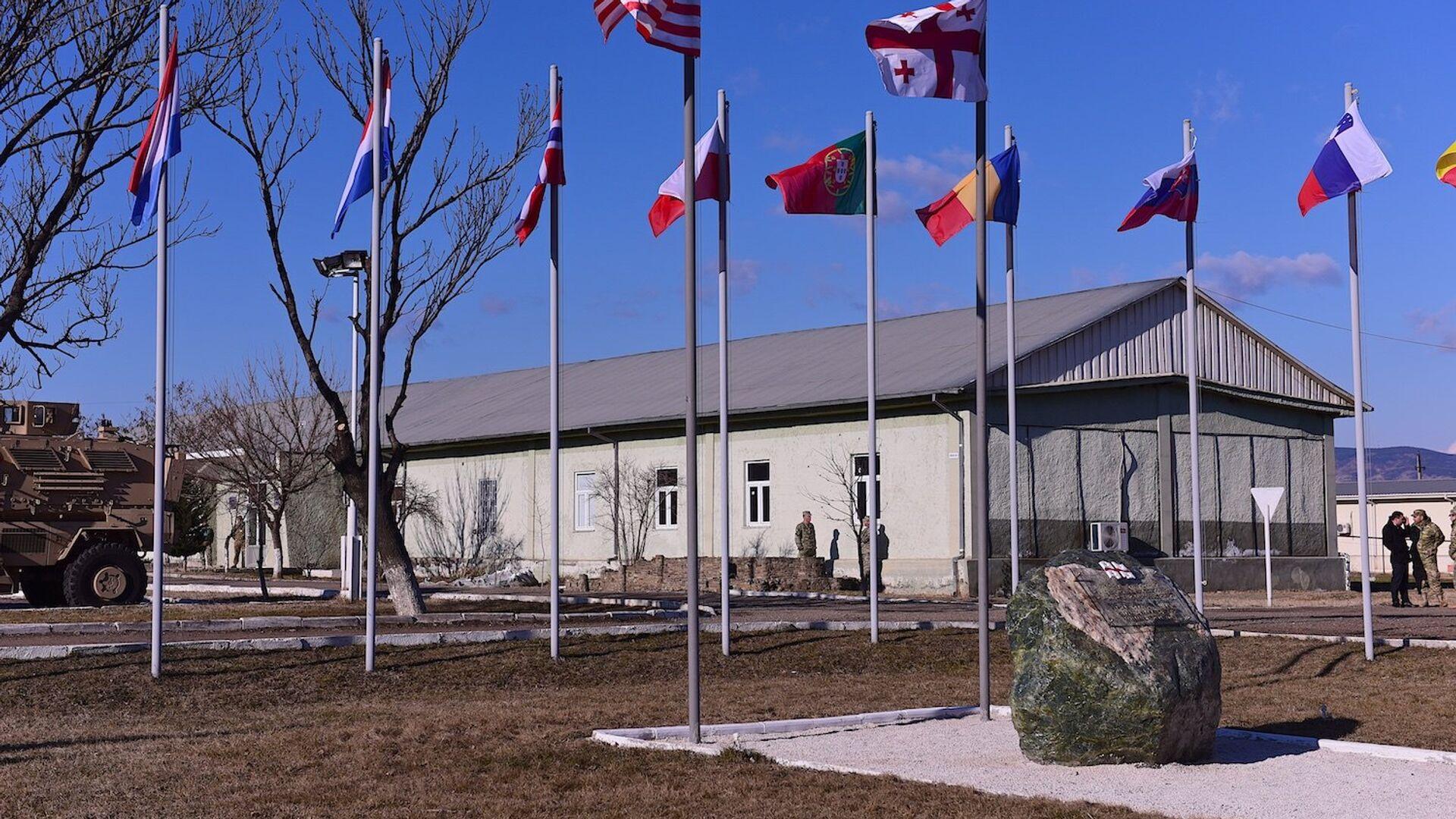 Учебный центр Грузия-НАТО на территории военной базы в Крцаниси - Sputnik Грузия, 1920, 11.06.2021