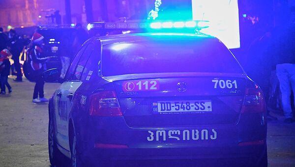 Патрульная полиция на одной из улиц столицы Грузии - Sputnik Грузия