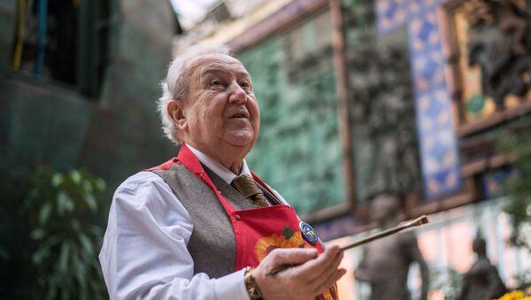 Президент Российской академии художеств Зураб Церетели - Sputnik Грузия