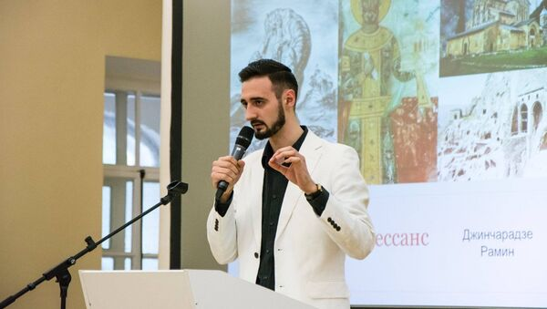 Рамин Джинчарадзе - Sputnik Грузия
